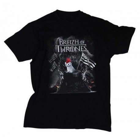 TEE-SHIRT BREIZH OF THRONES
