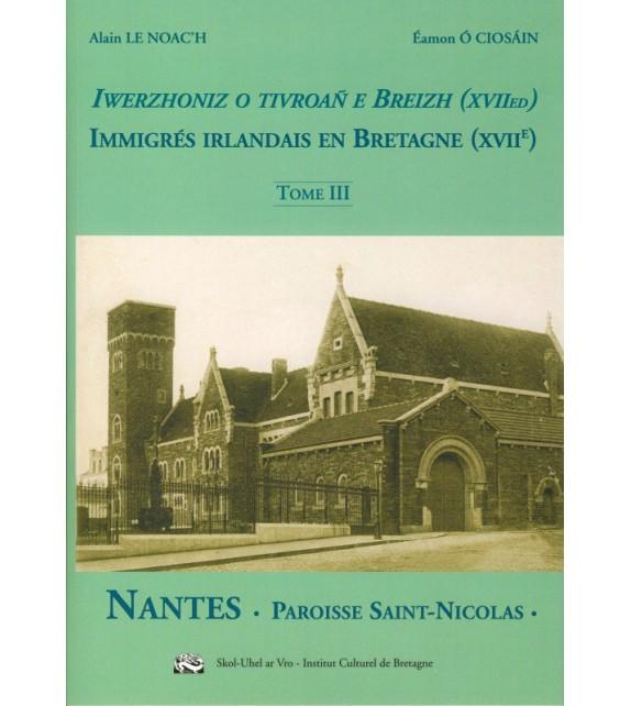 IMMIGRÉS IRLANDAIS EN BRETAGNE (XVIIe) - T3
