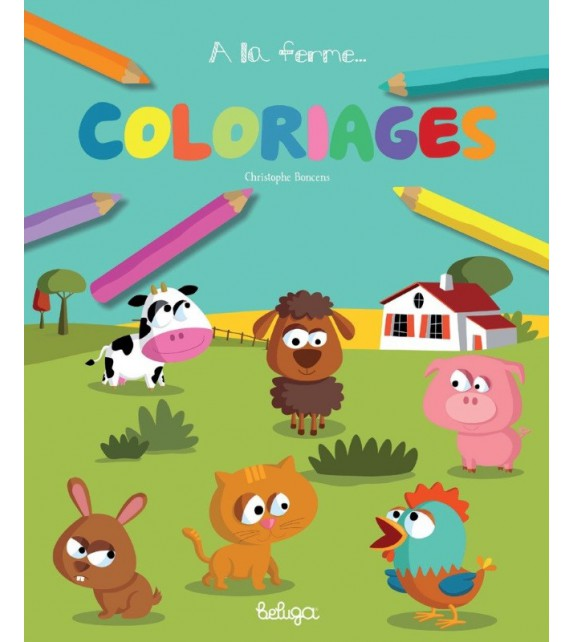 COLORIAGES À LA FERME