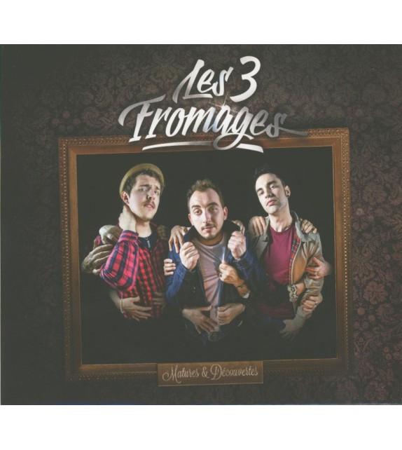 CD LES 3 FROMAGES - MATURES ET DÉCOUVERTES