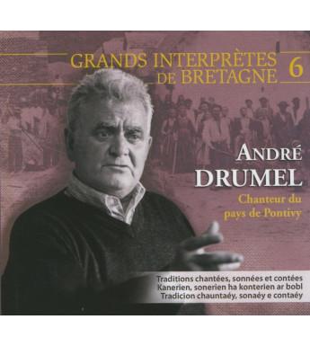 CD ANDRÉ DRUMEL - CHANTEUR DU PAYS DE PONTIVY