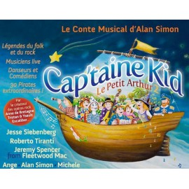 CD DVD CAP'TAINE KID - CONTE MUSICAL