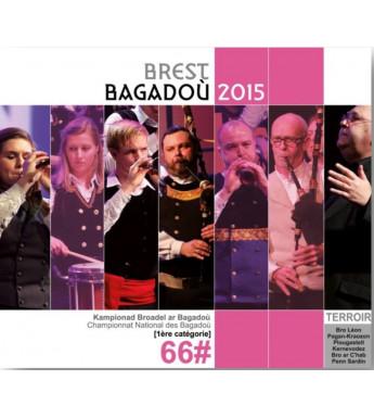 CD - DVD CHAMPIONNAT DES BAGADOÙ - BREST BAGADOÙ 2015