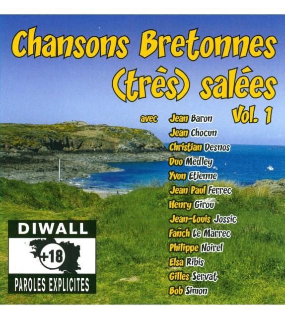 CD CHANSONS BRETONNES (TRÈS) SALEES volume 1
