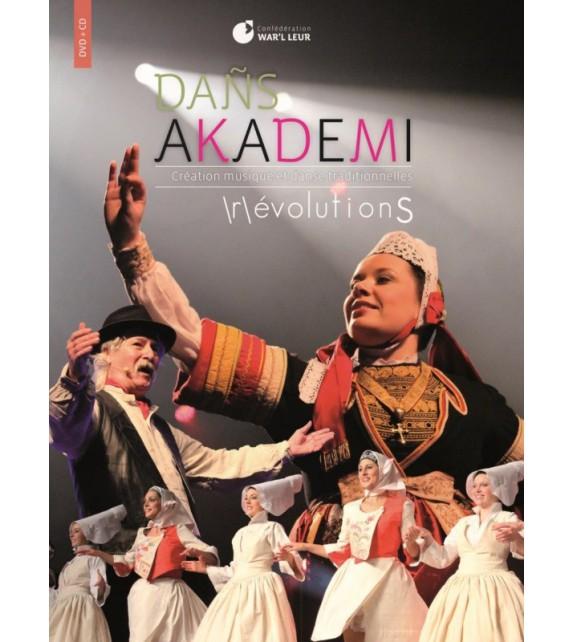 DVD CD DAÑS AKADEMI - /R/ÉVOLUTIONS