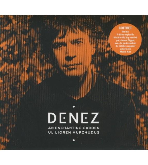 COFFRET CD ET REMIX DENEZ PRIGENT - AN ENCHANTING GARDEN - UL LIORZH VURZHUDUS