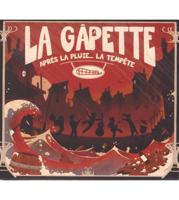 CD LA GAPETTE - APRÈS LA PLUIE... LA TEMPÊTE