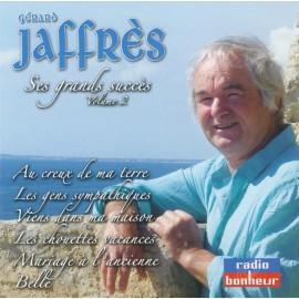 CD GÉRARD JAFFRÈS - SES GRANDS SUCCÈS VOLUME 2
