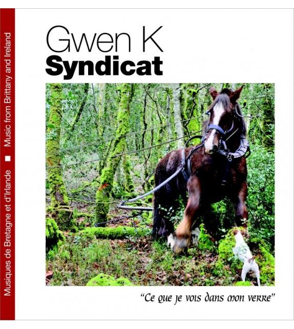 CD GWEN K SYNDICAT - CE QUE JE VOIS DANS MON VERRE