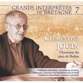CD CLÉMENTINE JOUIN - CHANTEUSE DU PAYS DE REDON