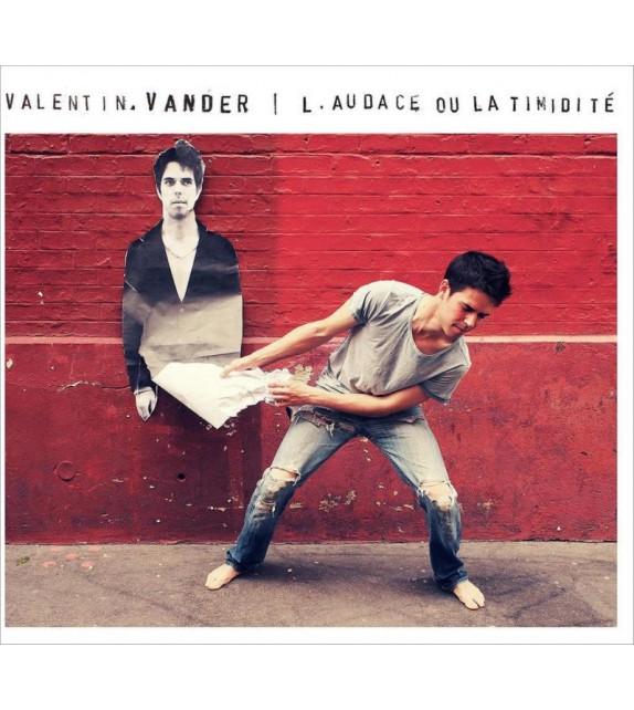 CD VALENTIN VANDER - L'AUDACE OU LA TIMIDITÉ