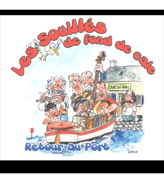 Double CD LES SOUILLÉS DE FOND DE CALE - RETOUR AU PORT