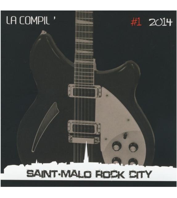 CD SAINT MALO ROCK CITY - LA COMPIL