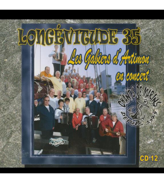 CD LES GABIERS D'ARTIMON EN CONCERT - LONGÉVITUDE 35