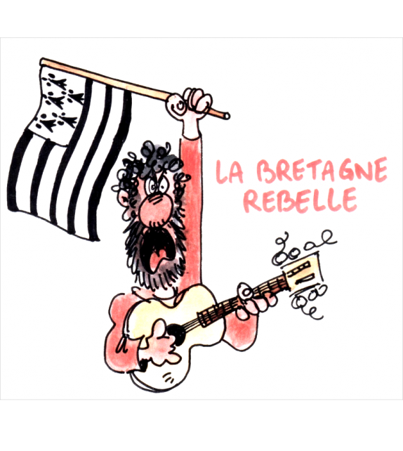 CD LA BRETAGNE REBELLE - Compilation