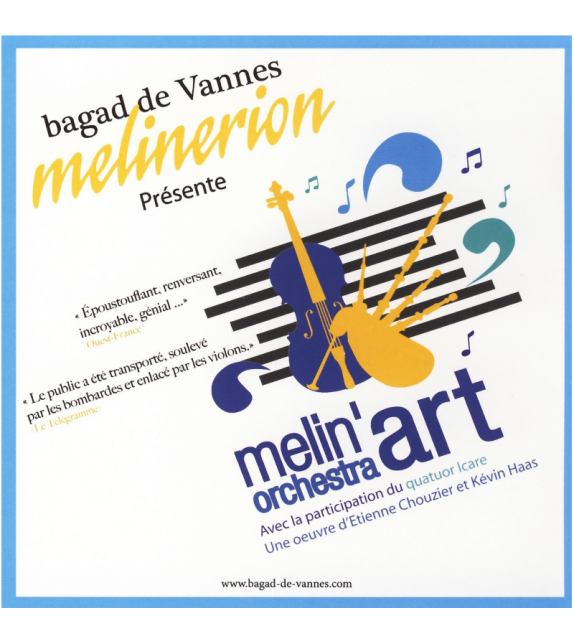 CD BAGAD DE VANNES MELINERION - MELIN'ORCHESTRA ART