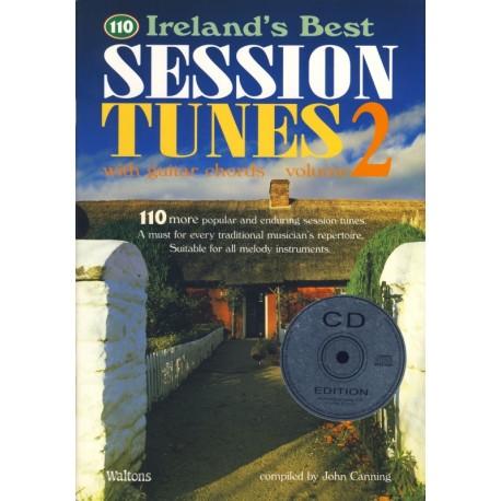110 BEST IRISH SESSION TUNES 2 - avec CD