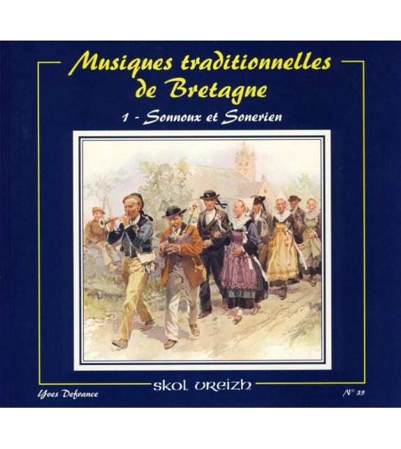 MUSIQUES TRADITIONNELLES DE BRETAGNE tome 1