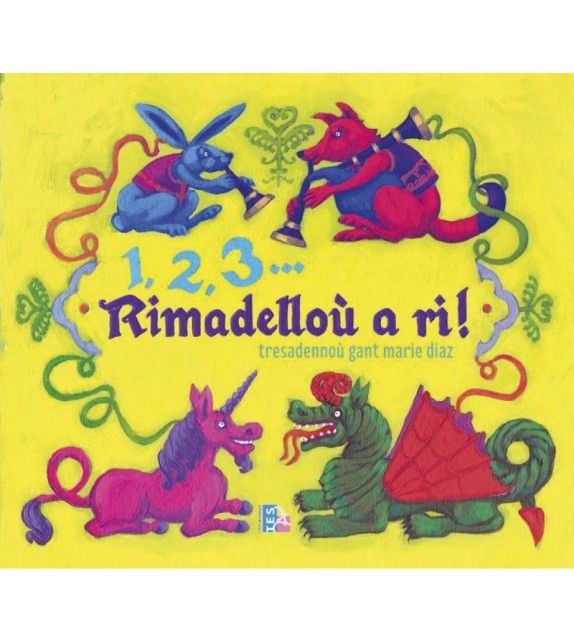 1, 2, 3... RIMADELLOÙ A RI ! (2 CD inclus) Version 2021