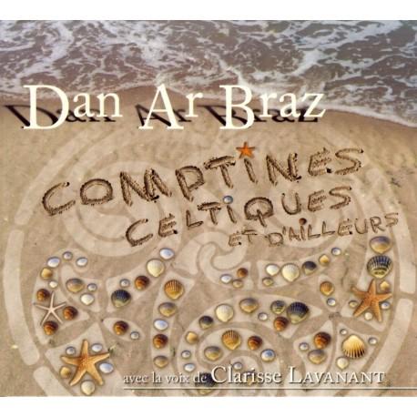 CD DAN AR BRAZ ET CLARISSE LAVANANT - Comptines celtiques et d'ailleurs