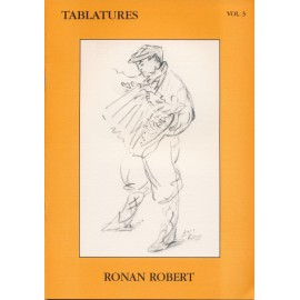 TABLATURES RONAN ROBERT Volume 3 + CD