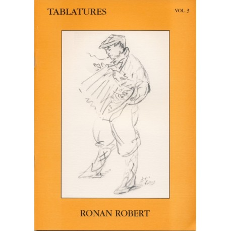 TABLATURES RONAN ROBERT Volume 3 + CD