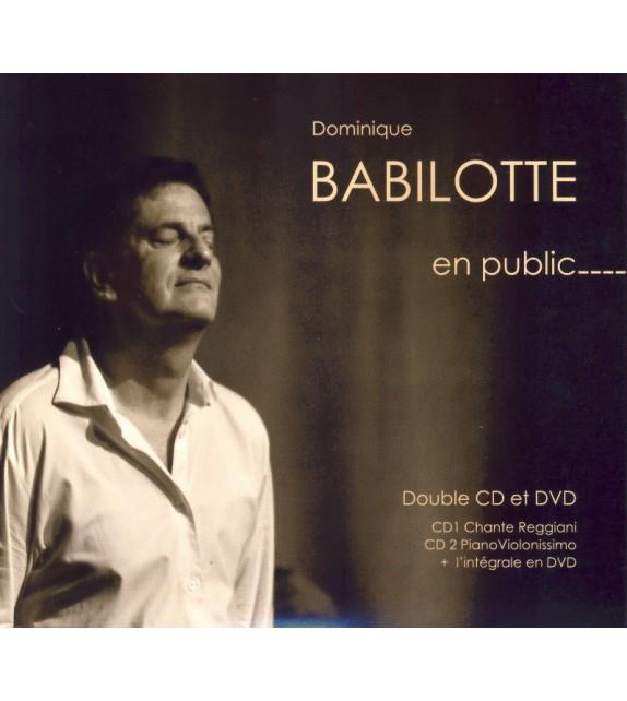 CD DVD DOMINIQUE BABILOTTE EN PUBLIC