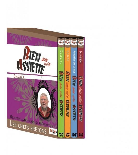 COFFRET DVD BIEN DANS VOTRE ASSIETTE (4015813)
