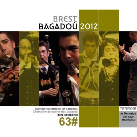 CD - DVD CHAMPIONNAT DES BAGADOU - BREST BAGADOU 2012