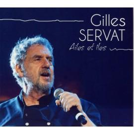 CD GILLES SERVAT - AILES ET ÎLES