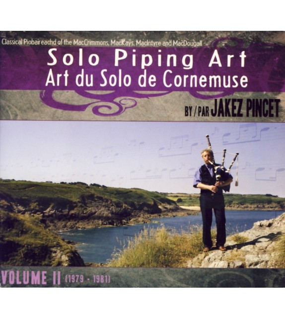 CD JAKEZ PINCET - SOLO PIPING ART - volume 2
