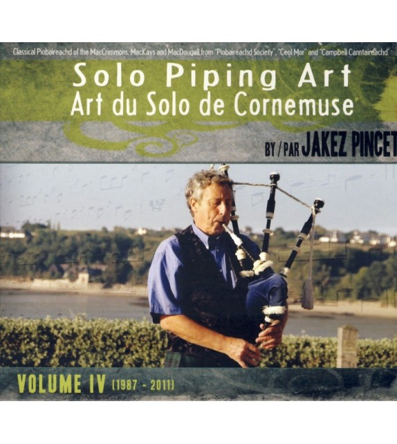 CD COFFRET JAKEZ PINCET - SOLO PIPING ART volume 4