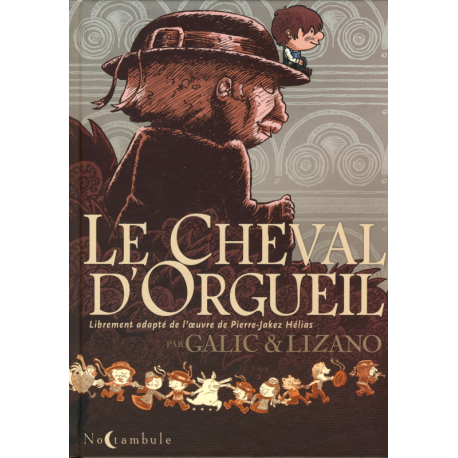 LE CHEVAL D'ORGUEIL EN BD