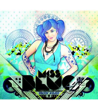 CD MISS BLUE - BREIZH'N BASS