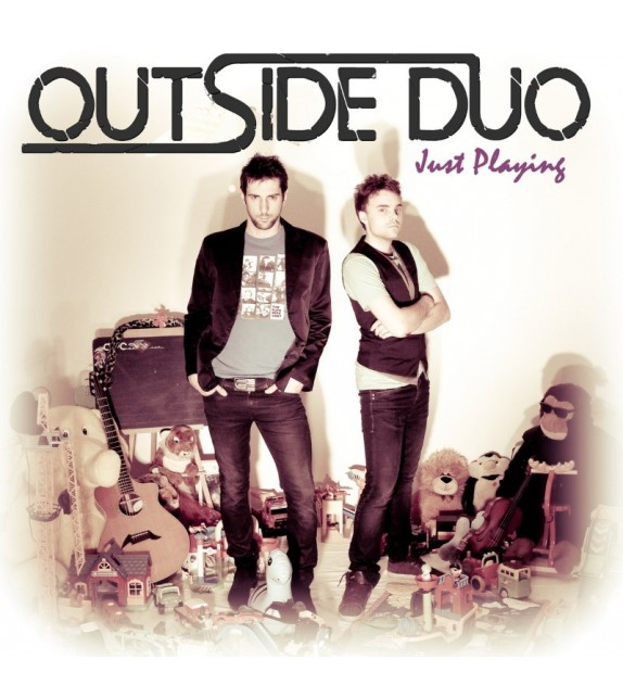 CD OUTSIDE DUO - JUST PLAYING
