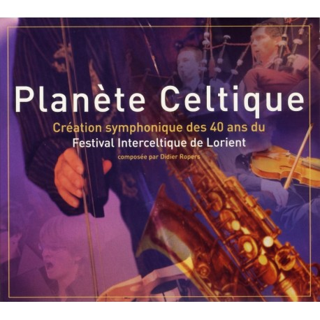 CD PLANÈTE CELTIQUE