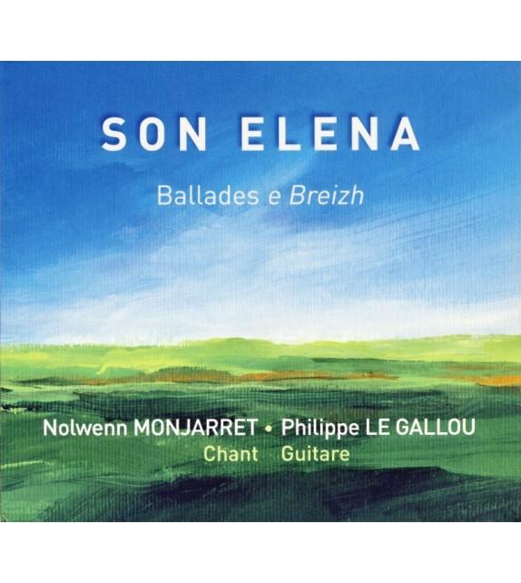 CD NOLWENN MONJARRET ET PHILIPPE LE GALLOU - SON ELENA