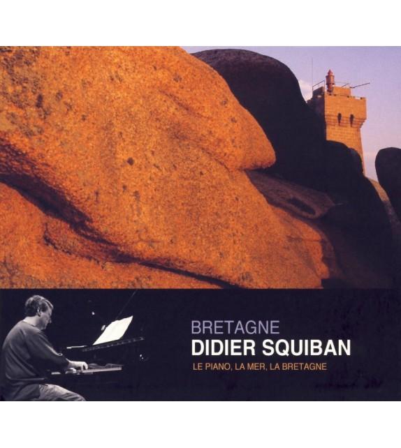 CD DIDIER SQUIBAN - LE PIANO, LA MER, LA BRETAGNE