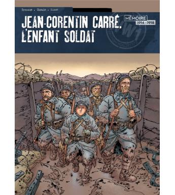 JEAN CORENTIN CARRE L'ENFANT SOLDAT Tome 2 - Bande dessinée