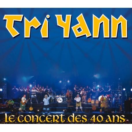 DVD DOUBLE CD TRI YANN - LE CONCERT DES 40 ANS