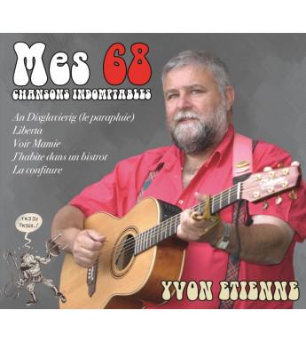 CD YVON ETIENNE - MES 68 CHANSONS