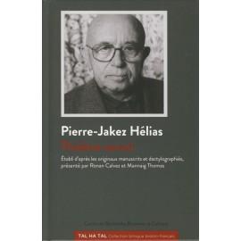 PIERRE-JAKEZ HÉLIAS - THÉÂTRE SOCIAL