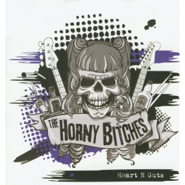 CD HORNY BITCHES - HEART N GUTS