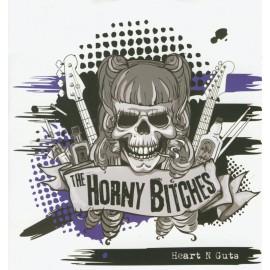 CD HORNY BITCHES - HEART N GUTS