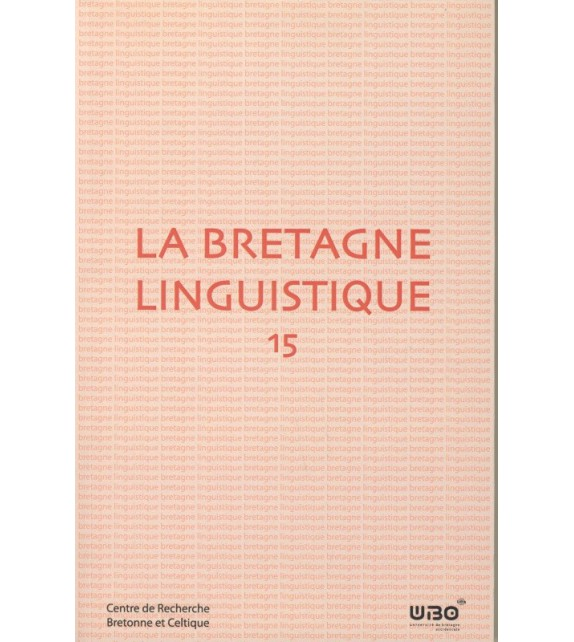 LA BRETAGNE LINGUISTIQUE - Volume 15