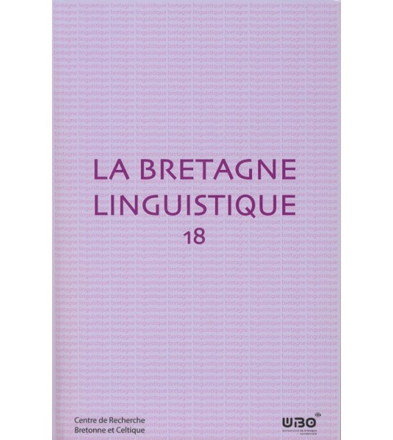LA BRETAGNE LINGUISTIQUE - Volume 18