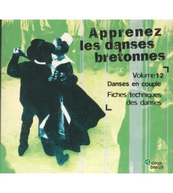 CD APPRENEZ LES DANSES BRETONNES VOL. 12 Les danses en couple