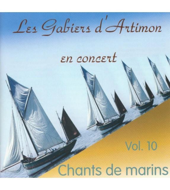 CD LES GABIERS D'ARTIMON - EN CONCERT (vol 10)