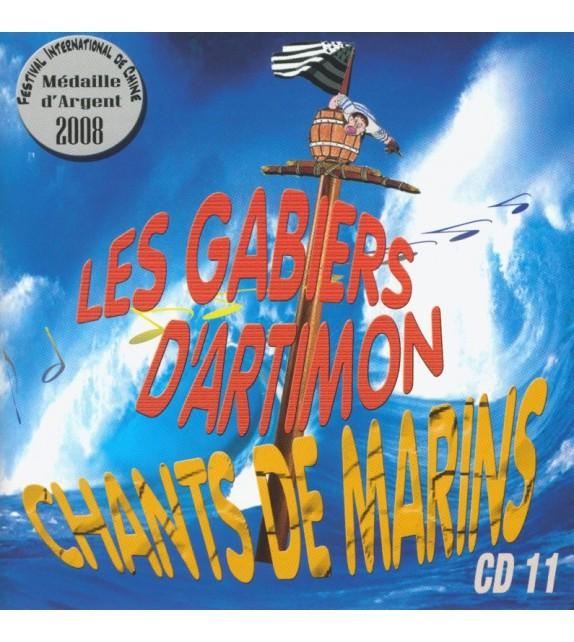 CD LES GABIERS D'ARTIMON - CHANTS DE MARINS
