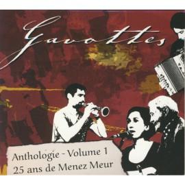 CD GAVOTTES ANTHOLOGIE - 25 ANS DE MENEZ MEUR Volume 1
